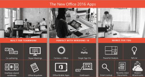 Office 2016 for newsletter