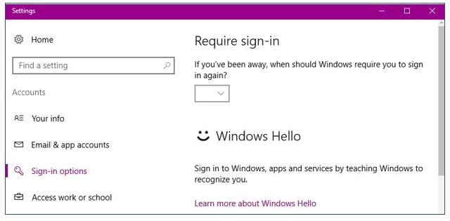 Windows Hello 1