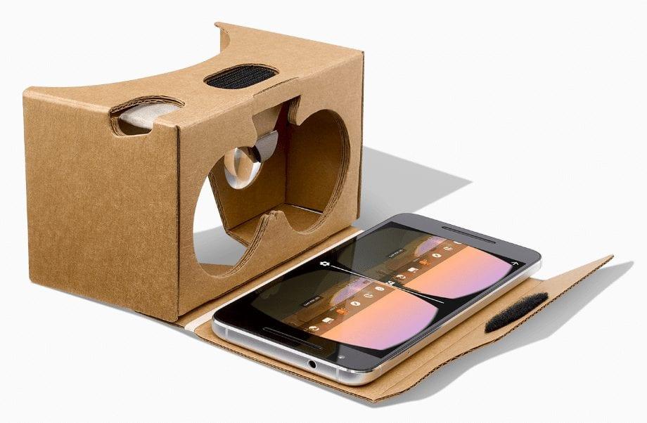 DIY virtual reality glasses