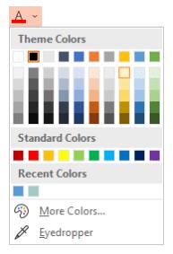 Re-color hyperlinks in Microsoft PowerPoint