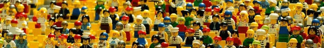 Large assortment of Lego mini figures.