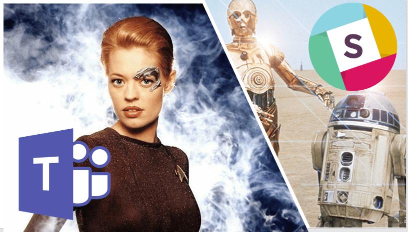 Microsoft Teams vs. Slack and Star Trek vs. Star Wars image