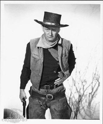 A western cowboy, symbolizing a black hat hacker.