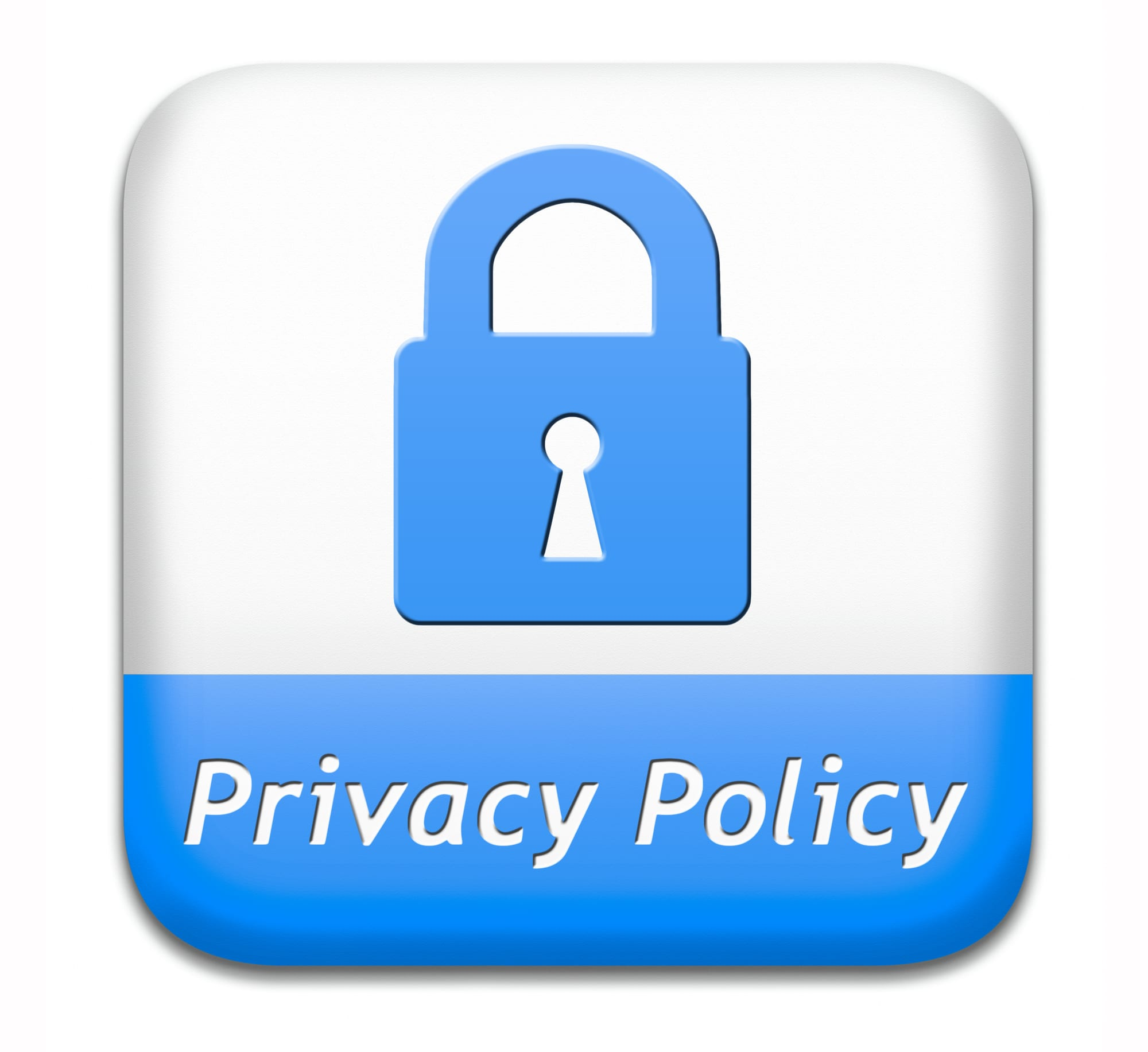 Privacy policy icon. it is important to understand how to protect your data as both an individual and an employee.