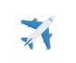 Airplane emoji in Microsoft Teams