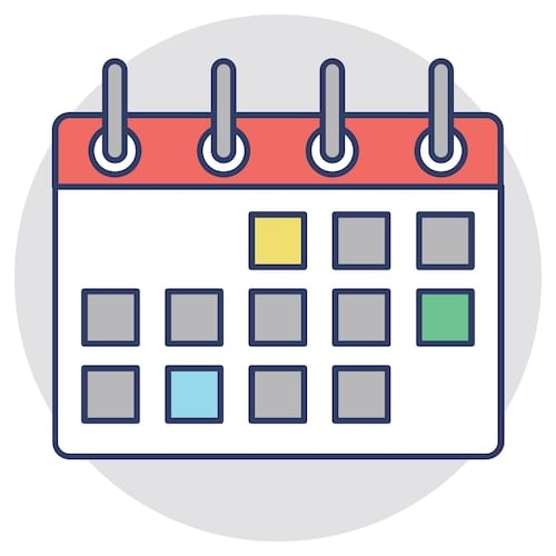 Color-coded calendar planner. With Microsoft Planner you can easily create tasks and buckets for tasks.