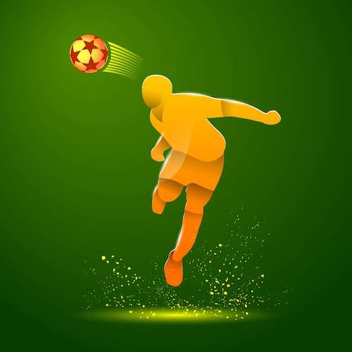 Soccer player making a header, symbolizing HTTP website security headers.