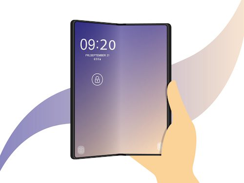Samsung Galaxy Z Fold3 phone offers a large screen size and can still comfortably fit in your pocket.